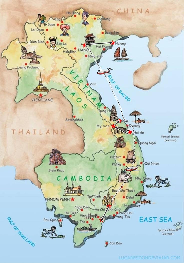 Itinerario-Vietnam-2010
