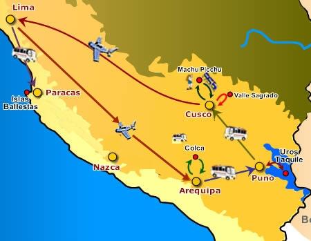 Peru-itinerario01