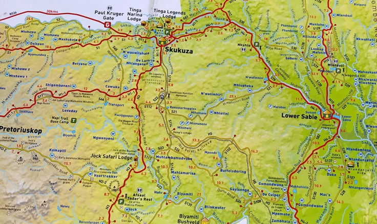 Mapa-lower-Sabie-Skukuza