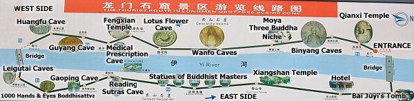 longmen-grottoes-tourist-map