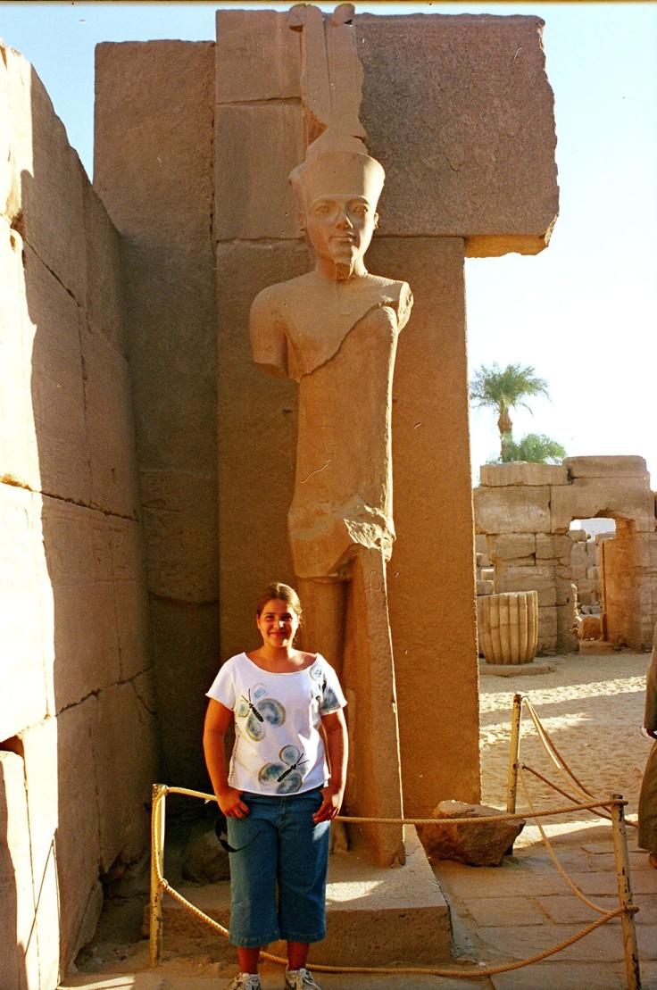 01-Egipto-Karnak-12-Estatua-Tutankamon